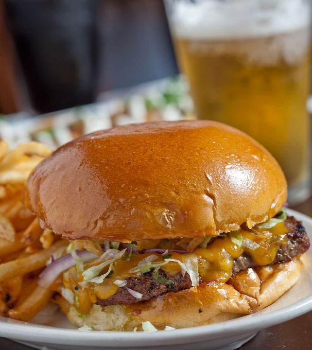 Image of The Pour House Burger