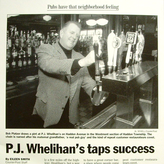 P.J. Whelihan's Humble Beginnings